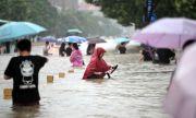 Наводнения в Китай: такъв дъжд вали веднъж на сто години