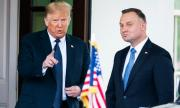 Тръмп поздрави полския президент