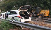 Тежка катастрофа затвори за часове пътя Русе – Силистра