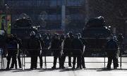Македонската полиция на крак