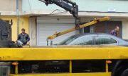 Паяк размаза кола при опит да я вдигне в София (СНИМКА)