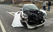 Тежка катастрофа след несъобразена скорост на нелепия завой край Враниловци