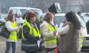 Перничани излязоха на протест, заплашиха следващият да е в София
