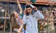 Нанси Карабойчева забременяла по-малко от три месеца след раждането на сина си