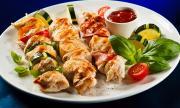 Рецепта за вечеря: Пилешки шишчета на фурна