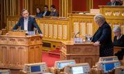 Опозицията в Норвегия пред победа на вота