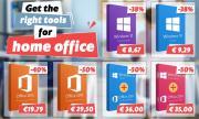Вземете подходящите инструменти за домашен офис! Windows 10 за €8,67