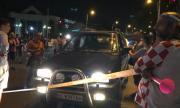 Нова блокада край румънското посолство