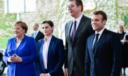 Макрон и Меркел част от преговорите между Сърбия и Косово