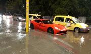 Бурята в София