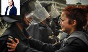 Момичето от снимката на протестите през 2013-а е кандидат за кмет на Банкя