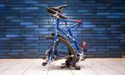 Велосипед със сгъваеми колела