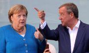Ангела Меркел подкрепи Армин Лашет