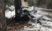Тежка катастрофа в Монтанско, един загинал