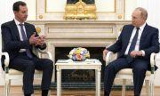 Башар Асад спешно при Владимир Путин в Кремъл