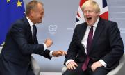Борис Джонсън си играе с бъдещето на Европа