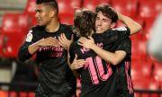 Реал Мадрид не срещна затруднения срещу Гранада и продължава битката с Атлетико Мадрид за титлата
