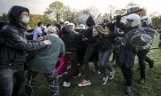 Белгийската полиция задържа 132 души, излезли на протест срещу COVID мерките