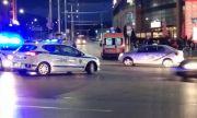 Блъснаха колоездач в центъра на София (СНИМКИ)