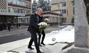 НСО отдаде почит на загинал лейтенант