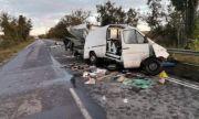 Шофьор загина при челен удар с камион на пътя Шумен-Русе