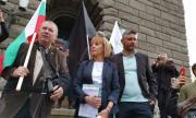 Манолова обяви на протеста, че ще се яви на избори (ВИДЕО)
