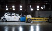 Toyota Yaris стана първият автомобил, издържал краш тест по новите правила (ВИДЕО)