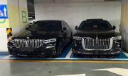 Радиаторната решетка на Hongqi H9 засенчва дори BMW