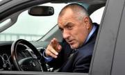 Борисов агитира незаконно в работно време със служебна кола