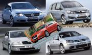 Топ 5 на употребяваните автомобили, които са регистрирани в КАТ от началото на годината в България
