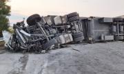 Откриха мъртъв шофьора на камиона-убиец