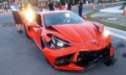 Карък размаза чисто нов Corvette ден след покупката
