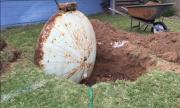 Мъж попадна на нещо сензационно в двора си (СНИМКИ)