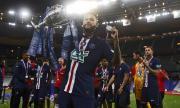 ПСЖ постигна требъл след инфарктна победа над Лион