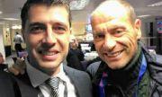 Легенди на калчото и европейски шампион с български мартеници (СНИМКИ)