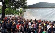 Самораново излезе на протест заради водата
