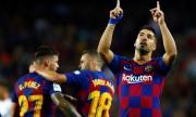Луис Суарес е вече голмайстор номер 3 в историята на Барселона