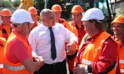 Борисов: Добре че направих пътища в София, че градът щеше да колабира