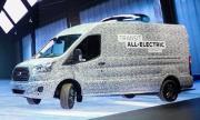 Ford обяви дата за дебюта на електрическия Transit