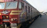 Авария спря влака Бургас-София, пътниците са блокирани