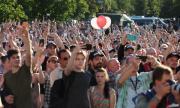 Голям протест в Беларус
