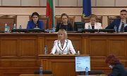 Манолова: Да се отделят достатъчно средства за потърпевшите от пожарите