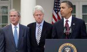 Личен пример! Обама, Буш и Клинтън доброволно ще бъдат ваксинирани срещу COVID-19 пред телевизионните камери