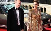 Кейт Мидълтън почете Даяна на червения килим с уникална рокля по поръчка (СНИМКИ)