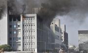 Пламна пожар в най-големия завод за производство на ваксини
