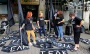 """""""Системата ни убива"""": Младежите на ГЕРБ заплашиха да осуетят автошествието ни"""