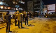 Опашки пред първия денонощен кабинет за ваксинация срещу коронавируса в София