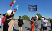 Протест заради пътя Русе-Кубрат