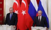 Путин разговаря с Ердоган