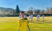 13-годишен вратар дебютира в мъжкия футбол в България